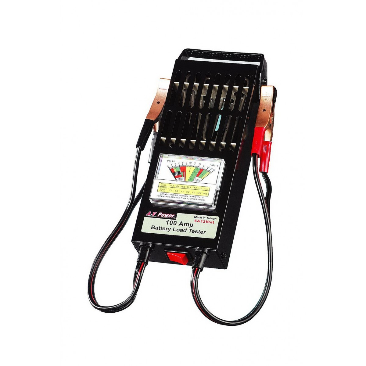 6/12v Battery Load Teater With 100amp - T Series Tools And